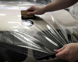 Бронирование автомобиля защитной пленкой