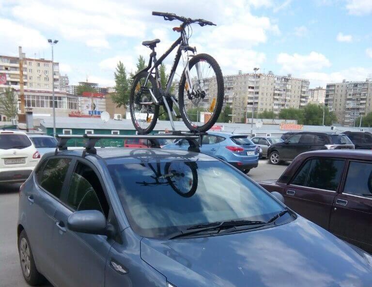 Возможна установка креплений для перевозки велосипедов, лыж, сноубордов
