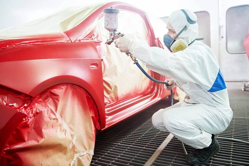 Правила проведения локальной покраски автомобиля