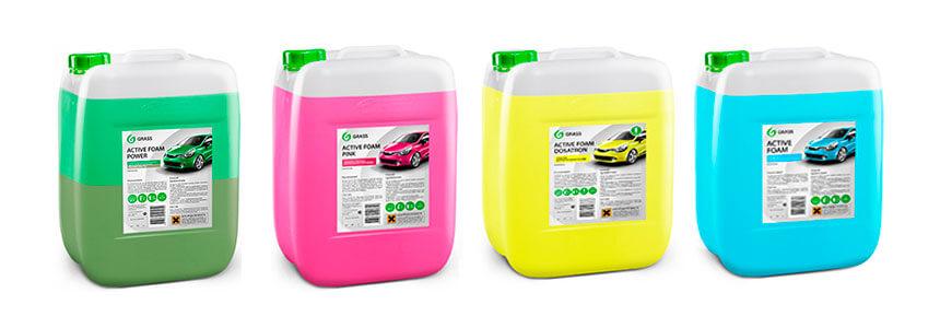 GRASS Авто шампунь для безконтактной мойки авто Active Foam Truck 23 kg