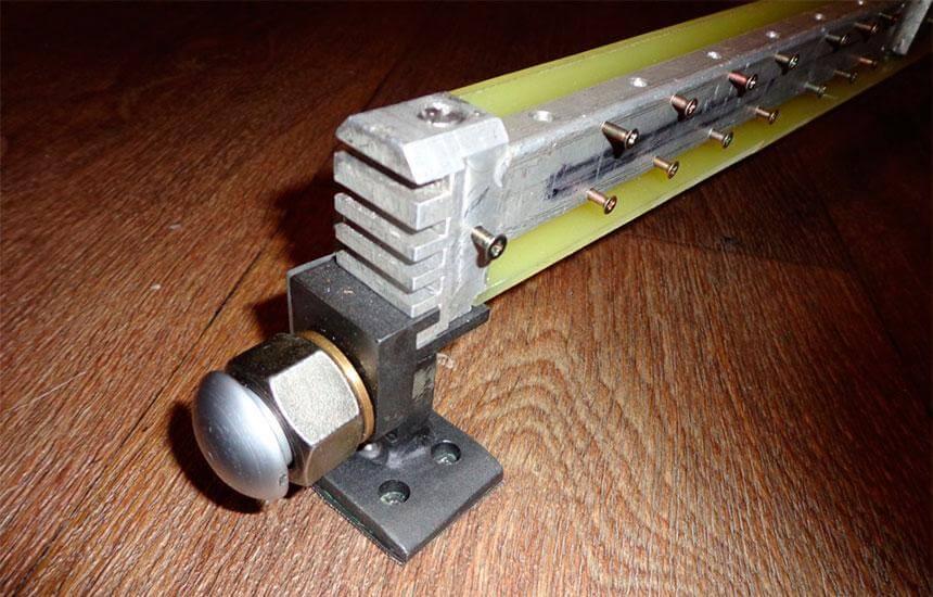 Самодельная светодиодная балка из алюминия