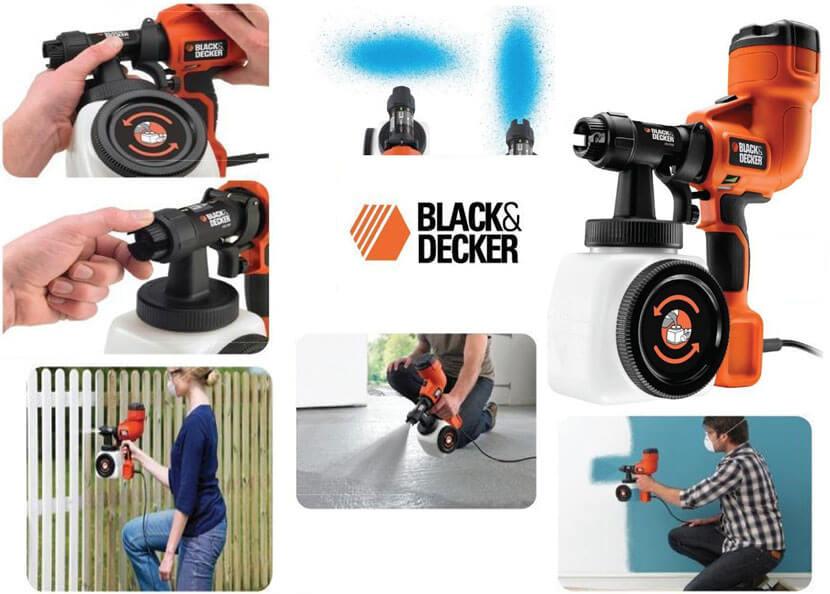Достоинства и недостатки краскопульта Black Decker HVLP200