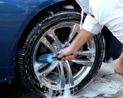 Очистка дисков автомобиля