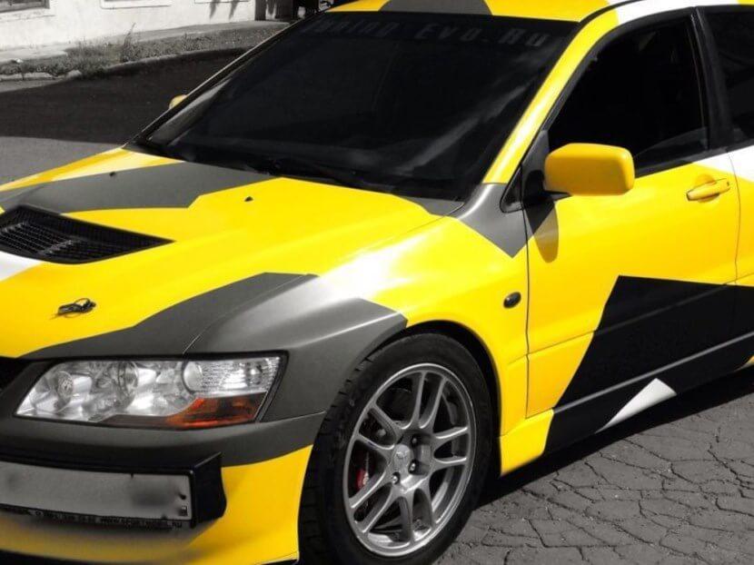 Покраска автомобиля жидкой резиной: плюсы и минусы
