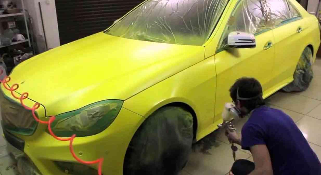 Технологий покраски авто своими руками