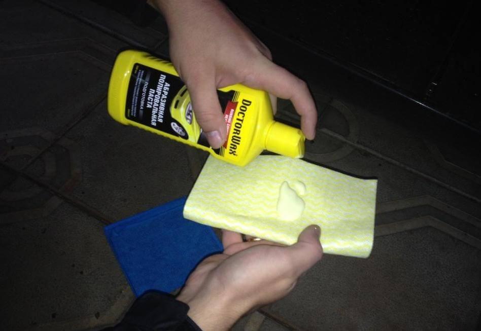 Как полирнуть машину в домашних условиях