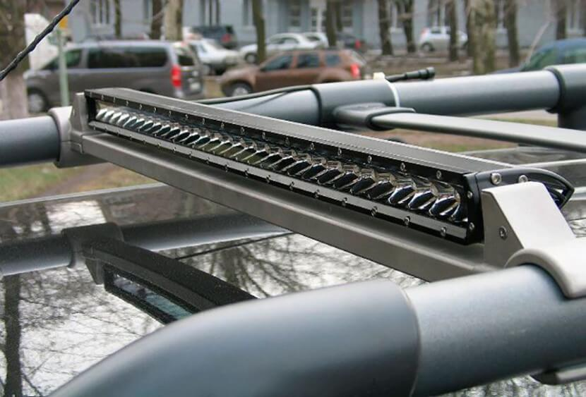 LED люстра на крышу автомобиля