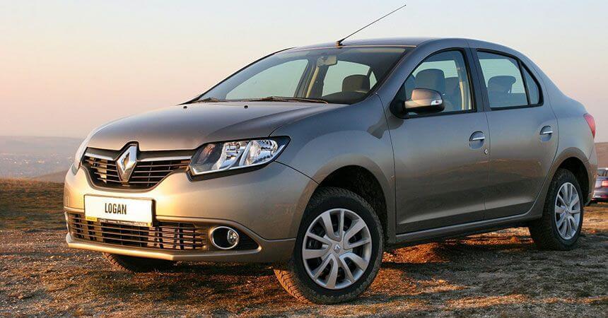 Renault (Рено) Logan (Логан) модель 2013 года