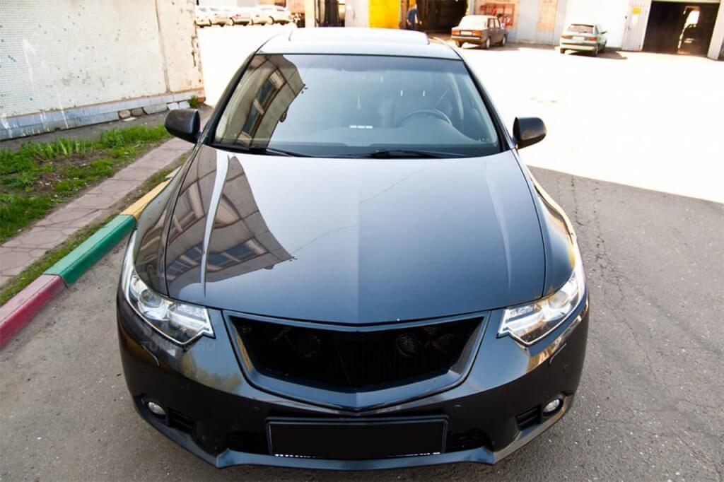 Тюнинг решетки радиатора Hondа Civic 4D