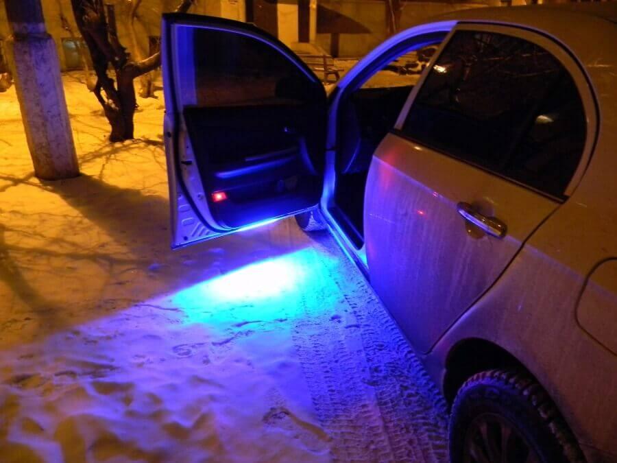 Подсветка днища автомобиля: что выбрать и как установить 89