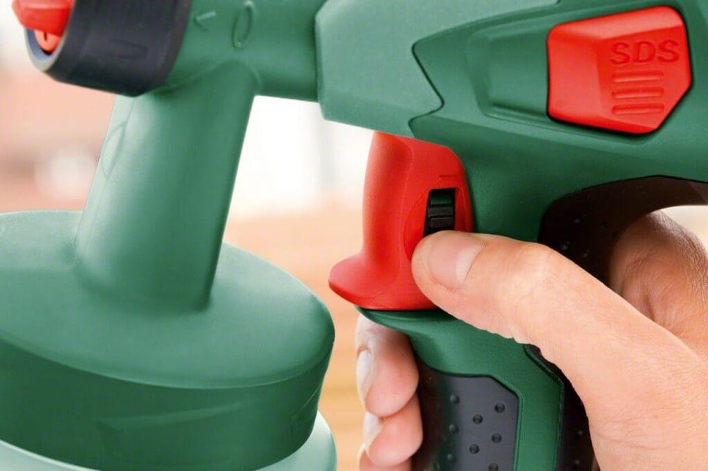 Электрический краскопульт Bosch PFS 55: описание и харакеристики
