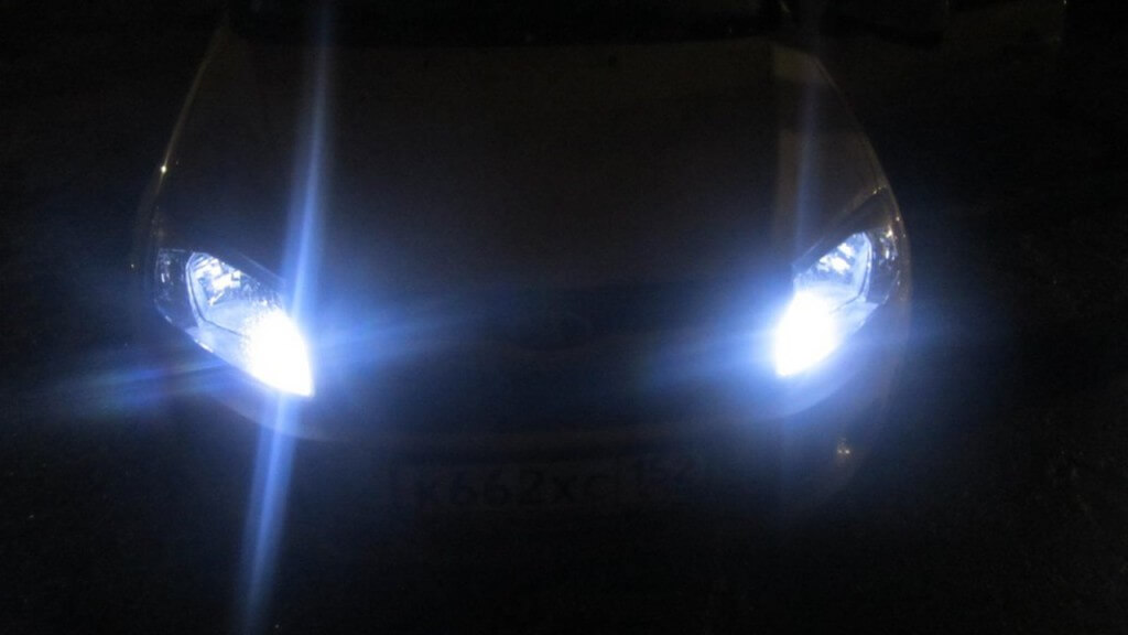 Работа светодиодных ламп
