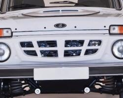 Как сделать тюнинг решетки радиатора на Ниву 2121