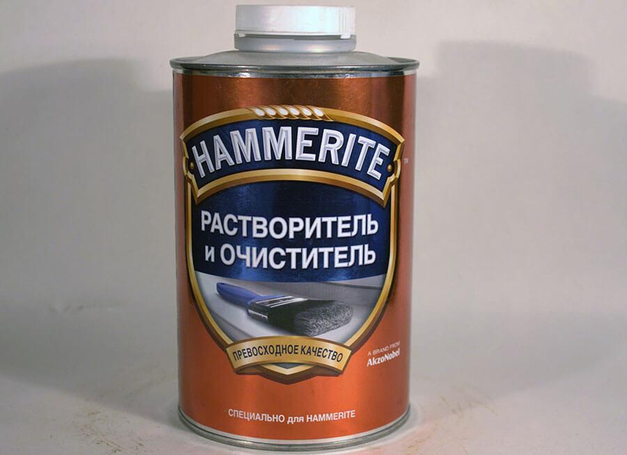 Hammerite растворитель и очиститель специально для красок Hammerite