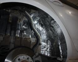 Шумоизоляция арок колес своими руками: виды, материалы, особенности