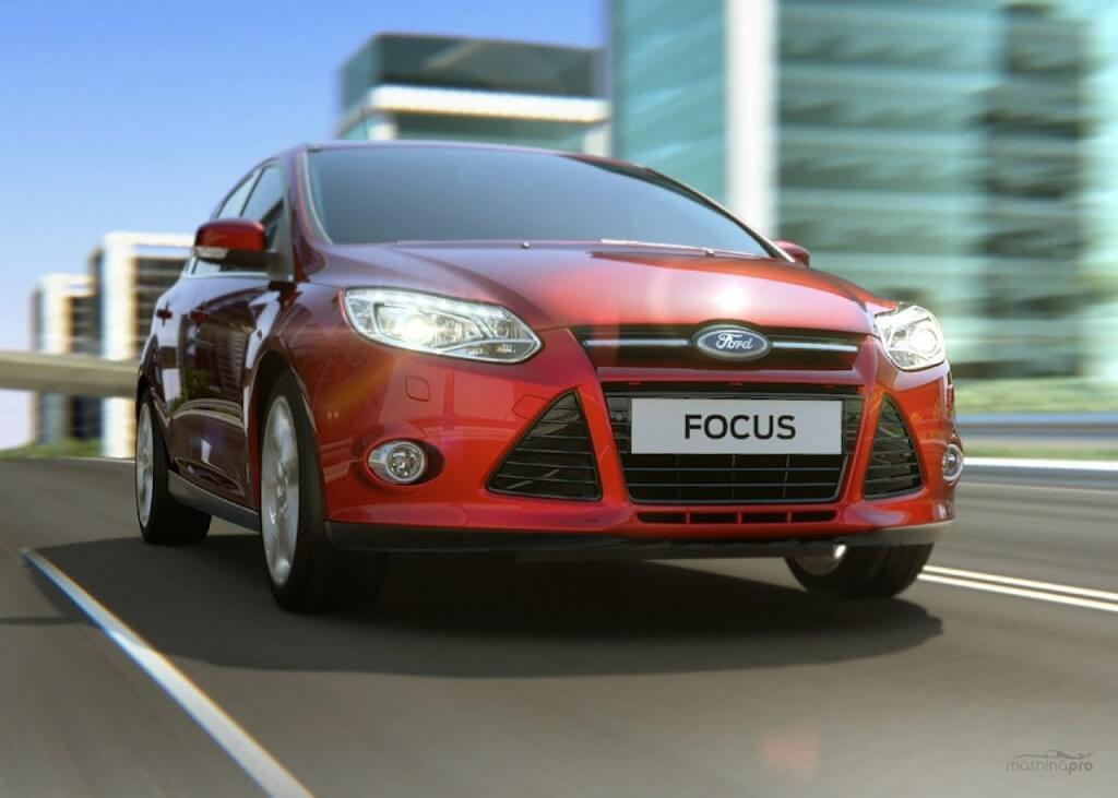 Ford Focus 3 с ксеноновыми лампами