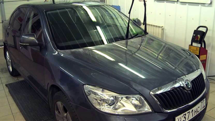 Тефлоновая полировка кузова автомобиля