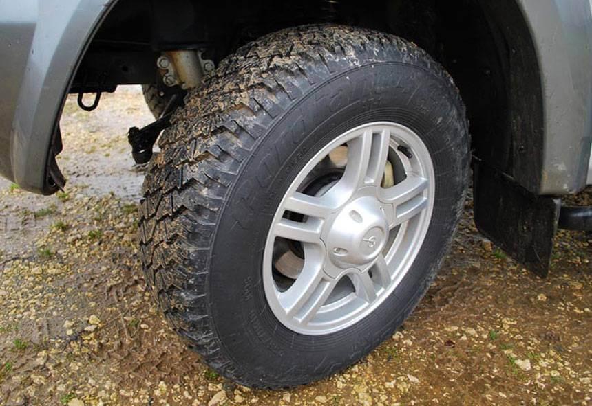 УАЗ 469 литые диски показаны на фото
