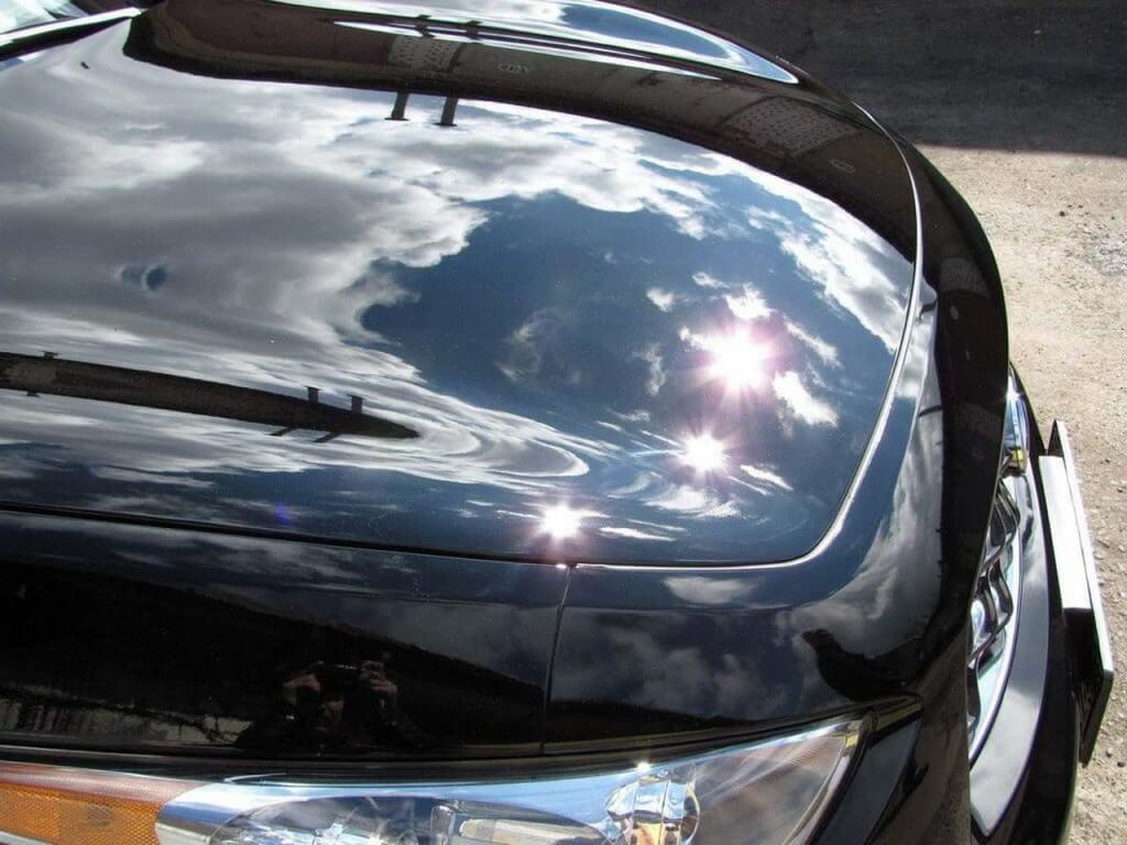 Полировка авто черного цвета
