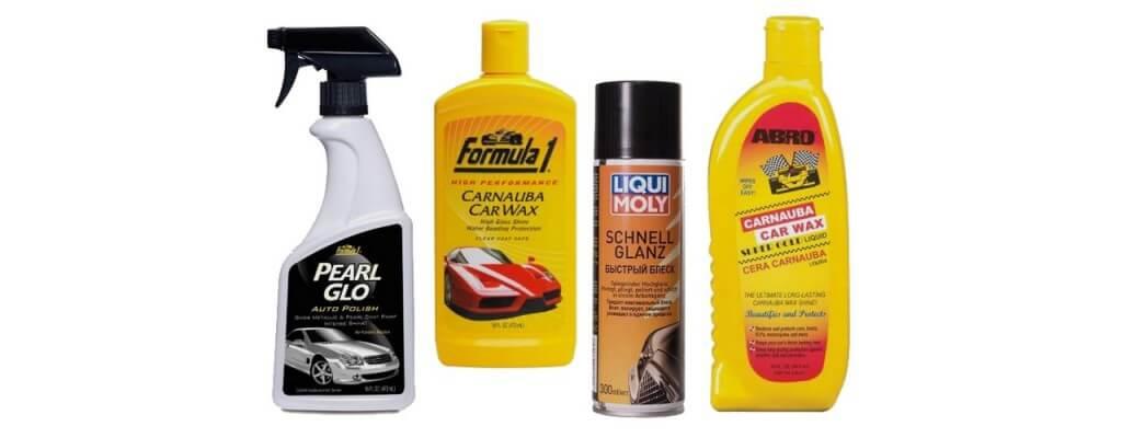 Жидкие полироли для автомобиля