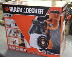 Краскопульт Black Decker HVLP200 в упаковке