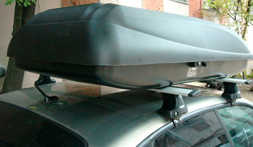 Бокс Carbon Black 437 (175 см, 430 литров)