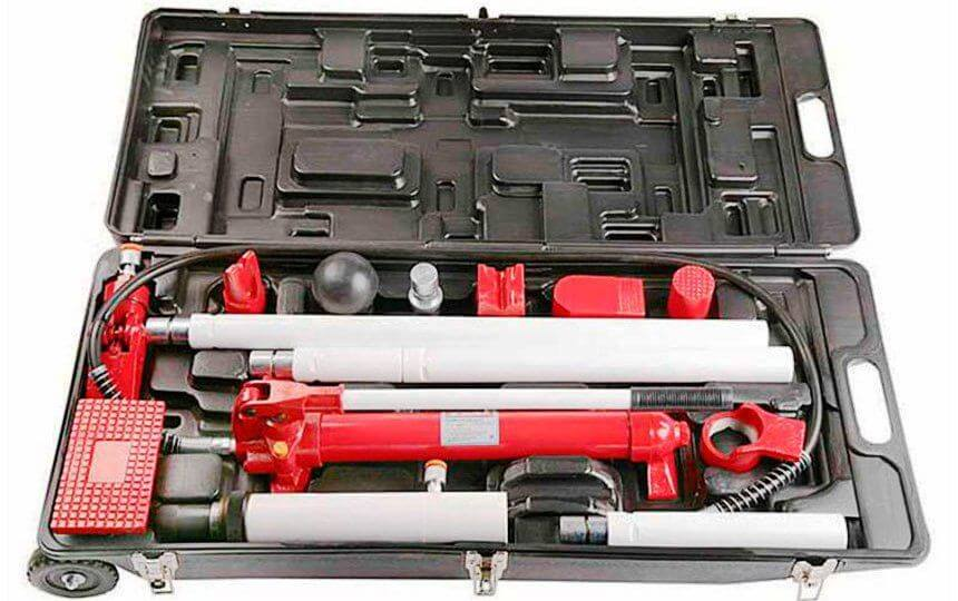 Гидравлический инструмент для кузовных работ