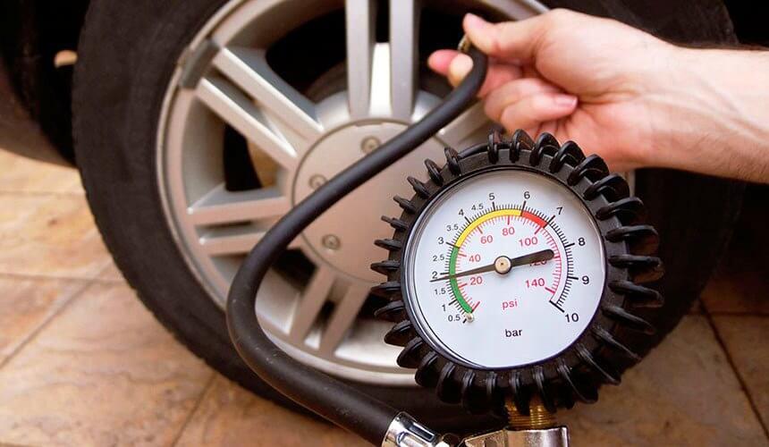 какое должно быть давление в шинах гироскутера