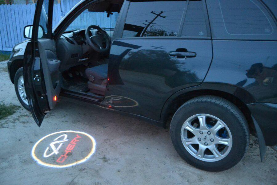 Проекторы логотипа марки автомобиля