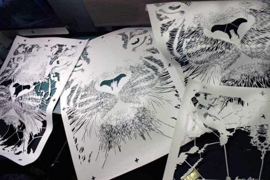 Изготовление рисунка для нанесения на автомобиль