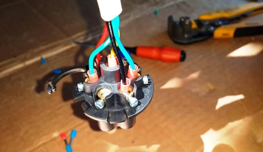 Подключение электрики ТСУ