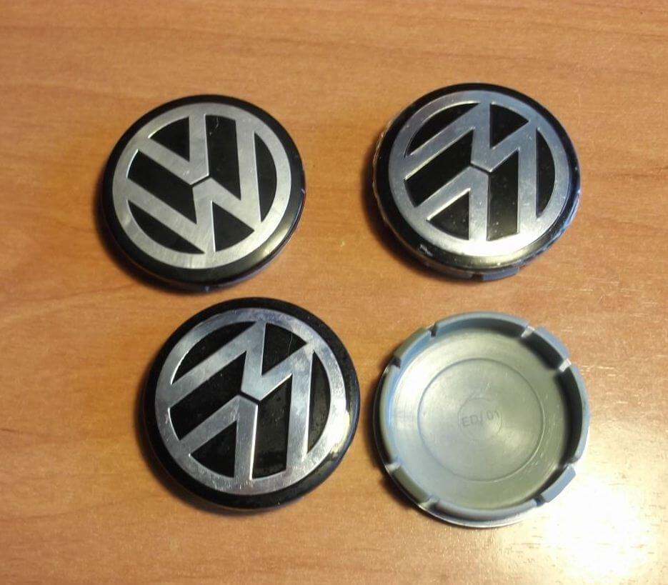 Колпачкив оригинальные литые диски Volkswagen