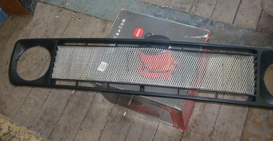 Тюнинг радиаторной решетку ВАЗ 2121