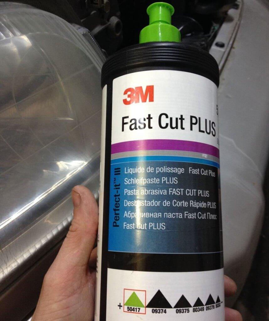 Полировальная паста для фар 3М