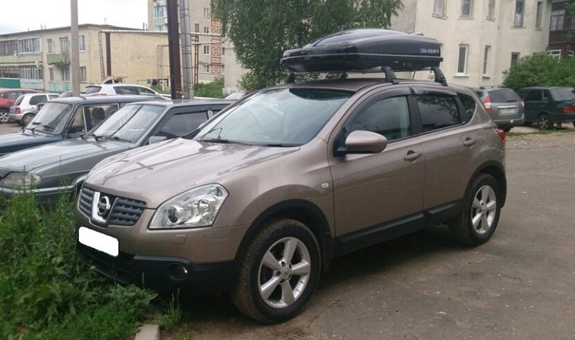 Багажник на крышу Ниссан Кашкай - виды, описание, характеристики