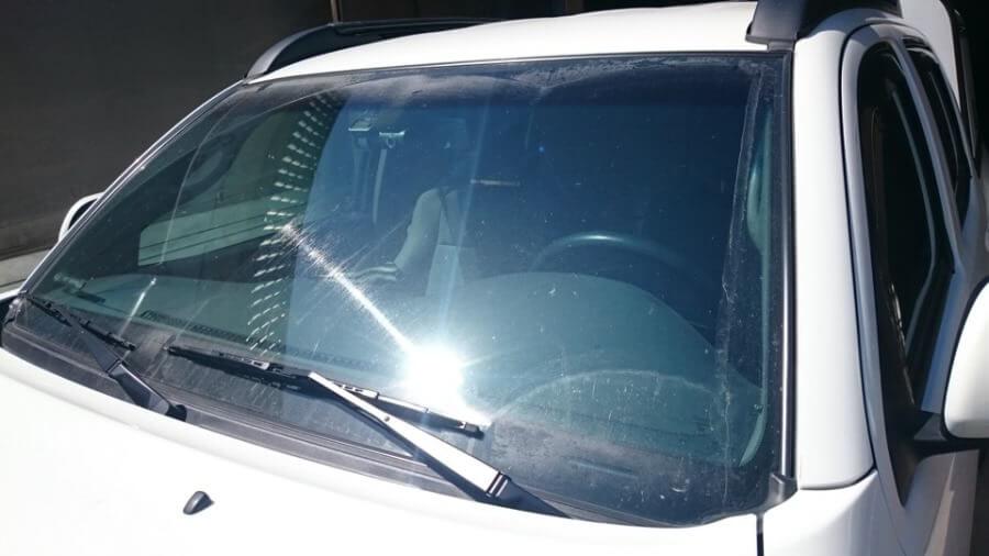Ухудшение видимости при бронировании стекол авто