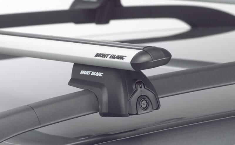 Багажник на рейлинги авто от компании Mont Blanc