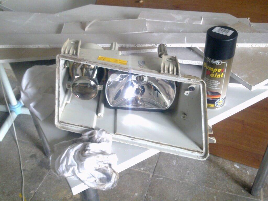 Модернизация фар на ВАЗ 2110