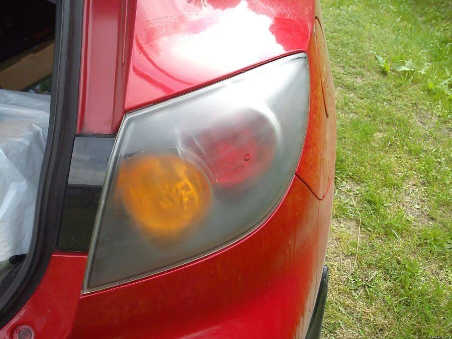 Ухудшение освещения на машине