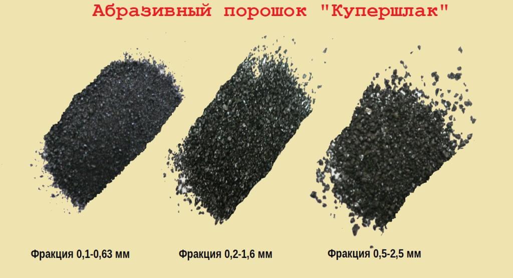 Купершлак - материал для обработки металла