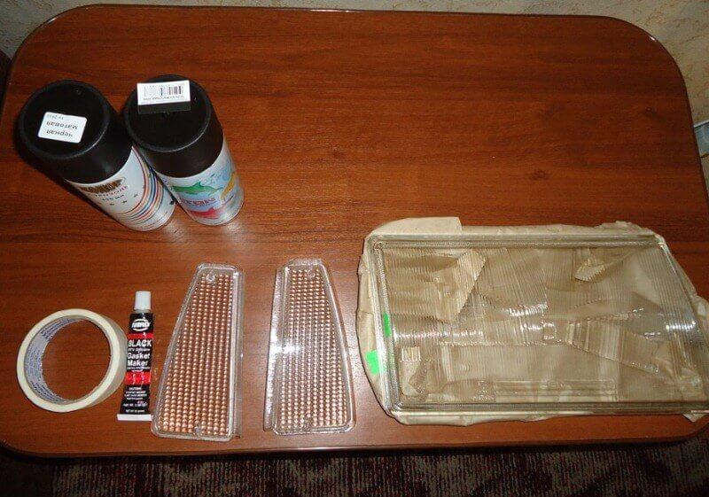 Подготовительный этап перед покраской