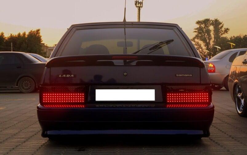 Светодиодные фонари на ВАЗ 2109