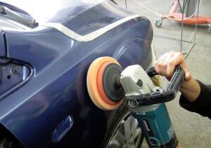 Оборудование для полировки кузова автомобиля