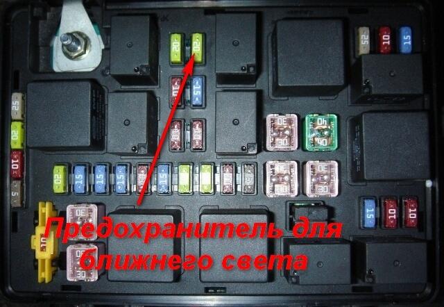 Блок предохранителей Ховер Н3/Н5