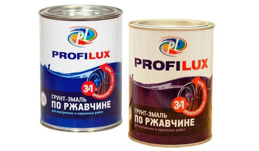 Лакокрасочніе продукция фирмі Профилюкс