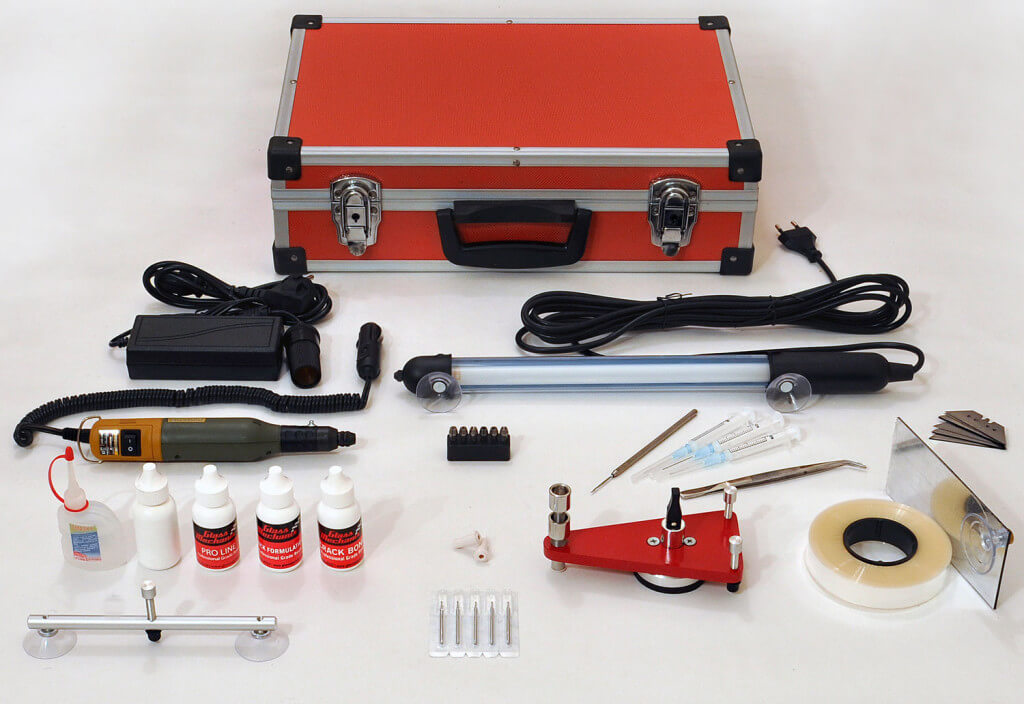 Комплект для устранения сколов и трещин