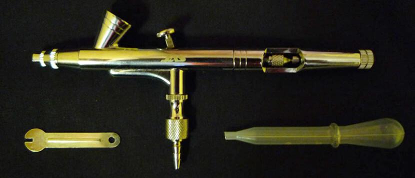 Аэрограф - инструмент для художественного тюнинга авомобиля
