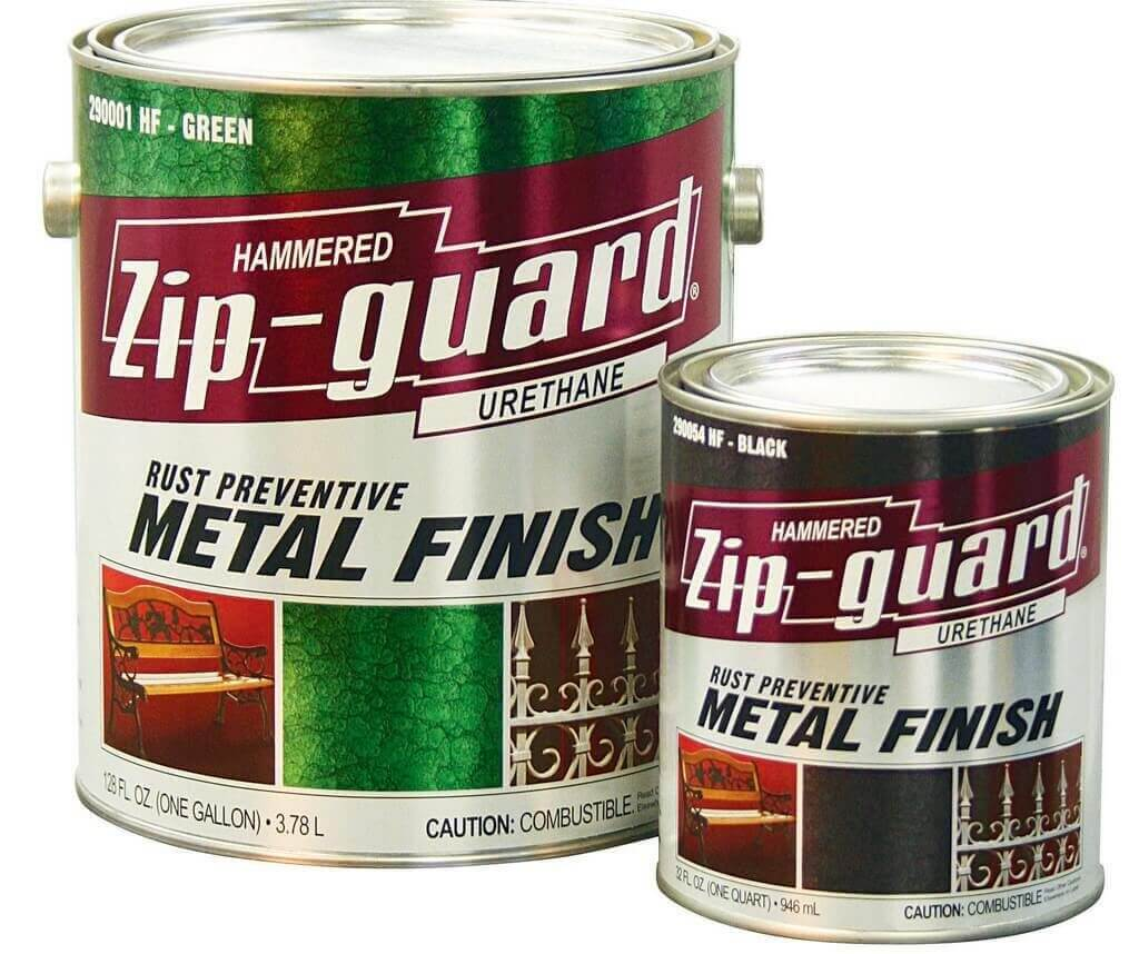 Краска по металлу молотковая серебристо-серая