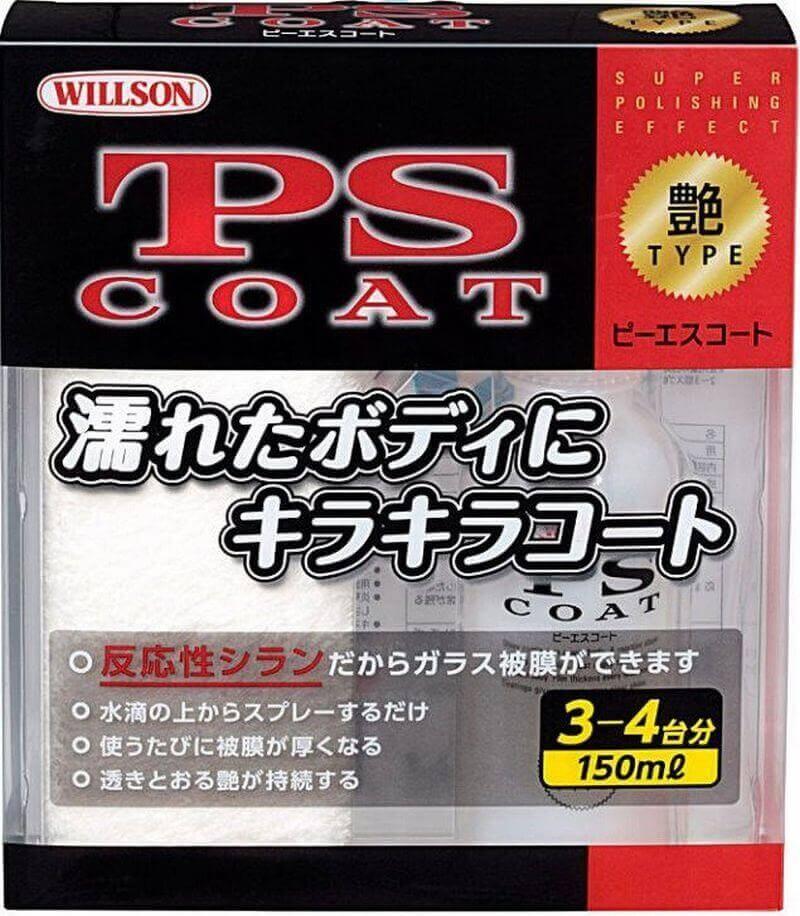 Willson PS COAT полироль быстрое жидкое стекло