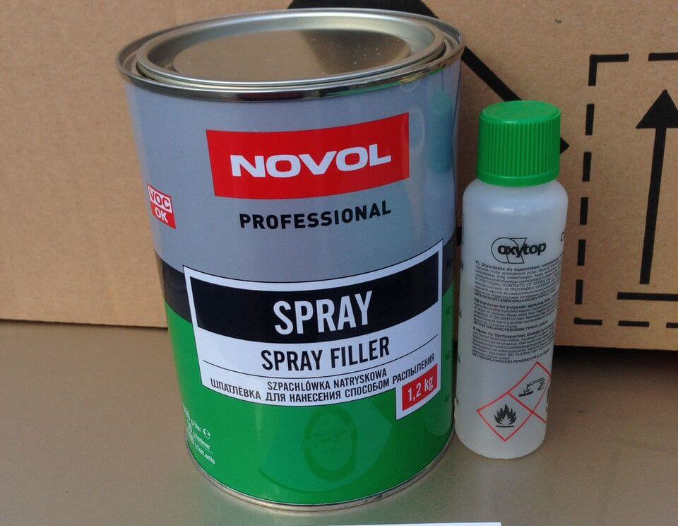 Шпатлевка NOVOL Spray